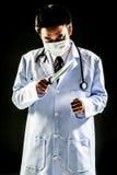 Psychosen-Griffmesser Doktors Serial Killer Lizenzfreie Stockbilder