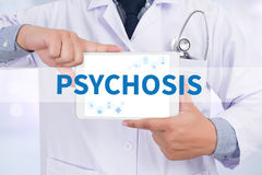 PSYCHOSIS Royalty Free Stock Image