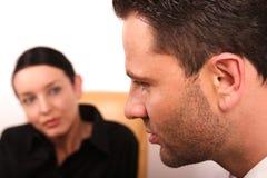 Psychothérapie ? support requis Photos stock