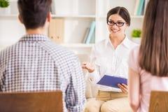psychotherapie Stockfoto