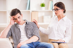 Psychotherapy Royalty Free Stock Photo