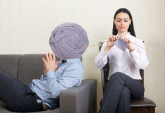 Psychotherapy concept Stock Photos