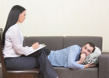 Psychotherapy concept Stock Photography