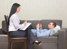 Psychotherapy concept Royalty Free Stock Images