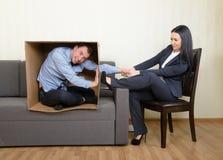 Psychotherapy pojęcie Fotografia Stock