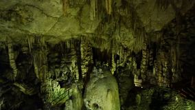 Psychro Cave, Crete stock video