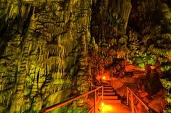 Psychro Cave. Crete, Greece. Stock Photo