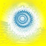 Psykedelisk abstrakt bakgrund Fotografering för Bildbyråer