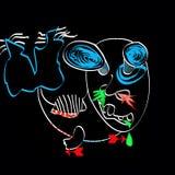 Psykedelisk fisk Royaltyfri Illustrationer