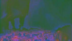Psykedelisk regnb?gsskimrande bakgrund f?r f?rgrik dynamisk science fiction stock video