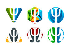psykologi vektor illustrationer