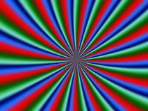 psykologisk spiral Arkivfoton