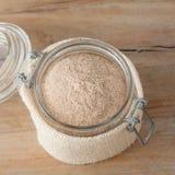 Psyllium husks powder Royalty Free Stock Image