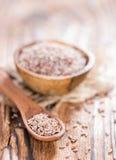 Psyllium Seeds in a bowl Royalty Free Stock Photos