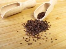 Psyllium seeds, Psyllii semen Royalty Free Stock Image