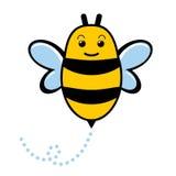 pszczoła śliczna ilustracja wektor