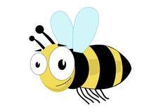 pszczoła śliczna Fotografia Royalty Free