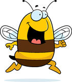 pszczoła bieg ilustracja wektor