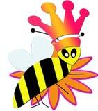 pszczoła ilustrująca Zdjęcia Royalty Free