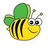 Pszczoła insekta natury bestii ikony kreskówki Drobiowego projekta abstrakcjonistyczny ilustracyjny zwierzę Zdjęcie Royalty Free