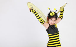 pszczoła mamrocze kostium obraz royalty free