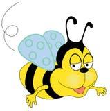 pszczoła szczęśliwa Zdjęcia Stock