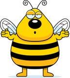 pszczoła wprawiać w zakłopotanie Zdjęcia Stock