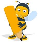 pszczoły kreskówka Zdjęcia Stock