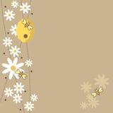 pszczoły miodowe royalty ilustracja