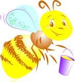 pszczoła miód Fotografia Royalty Free