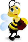 pszczoła miód Obraz Royalty Free