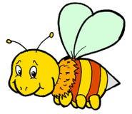 pszczoła ruchliwie Zdjęcie Stock