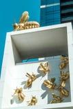 Pszczoły kolonia Obrazy Royalty Free