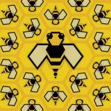 Pszczoły królowa Obrazy Royalty Free