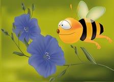 pszczoły latanie Fotografia Royalty Free