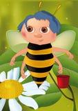 pszczoły wiadro Obrazy Stock