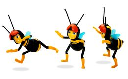 pszczoły zabawka Obrazy Royalty Free