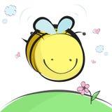 pszczoła śliczna Zdjęcia Royalty Free