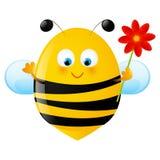 pszczoła śmieszna Obrazy Stock