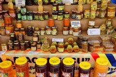 Pszczoła produkty Zdjęcie Royalty Free