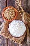 Pszeniczna mąka zdjęcie royalty free