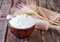 Pszeniczna mąka zdjęcia stock