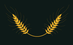 Pszenicznego wektoru odosobniony logo Obrazy Stock