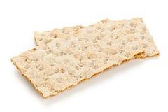 Pszeniczni crispbread plasterki Fotografia Stock