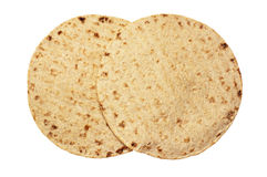 Pszeniczni round tortillas obraz royalty free