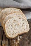 Pszeniczny chleb z otręby obrazy royalty free