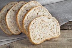 Pszeniczny chleb z otręby obraz stock