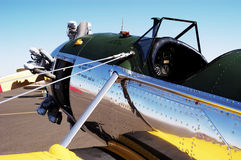 PT-22. A US Army PT-22 aircraft on display at an airshow Royalty Free Stock Photography