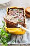 Pâté de pays Photo stock