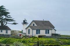 Pt Montara Lighthouse Hostel in Northern California. Pt Montara Lighthouse Hostel, Northern California Coast Royalty Free Stock Photo